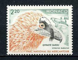 MONACO 1992 N° 1849 ** Neuf MNH Superbe C 1,60 € Faune Oiseaux Rapaces Gypaete Birds Animaux Fauna - Monaco