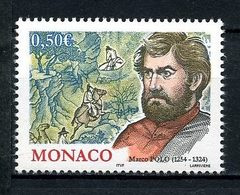 MONACO 2004 N° 2451 ** Neuf MNH Superbe C 1.60 € Personnalité Marco Polo Voyageur Vénitien Chevaux Cavaliers - Ongebruikt