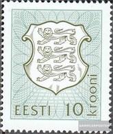 Estonia 206b (complete Issue) Unmounted Mint / Never Hinged 1998 State Emblem - Estonia