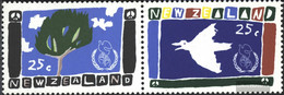 New Zealand 958-959 Couple (complete Issue) Unmounted Mint / Never Hinged 1986 Peace - Unused Stamps