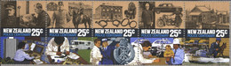 New Zealand 949-953 Five Strips (complete Issue) Unmounted Mint / Never Hinged 1986 Police - Unused Stamps