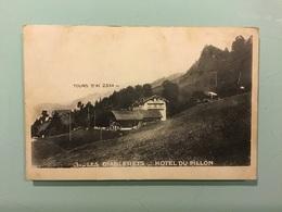 LES DIABLERETS. — HOTEL DU PILLON - Suisse