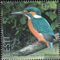 Estonia 789 (complete Issue) Unmounted Mint / Never Hinged 2014 Birds - Estland