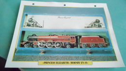 GBCARTE DEPHOTO DE TRAIN N° DE CASIER 2PHOTO 250 X 185 - Trains