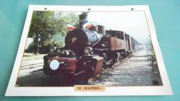 FCARTE DEPHOTO DE TRAIN N° DE CASIER 9PHOTO 250 X 185 - Trains