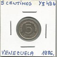 Venezuela 5 Centimos 1986. - Venezuela