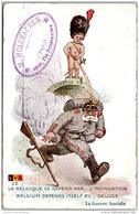 MILITARIA - 1914-1918 - La Belgique Se Défend Par L'inondation - Guerre 1914-18