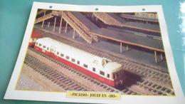 FCARTE DEPHOTO DE TRAIN N° DE CASIER 18PHOTO 250 X 185 - Trains
