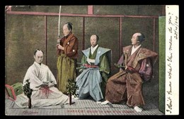 JAPON, Harakiri, Suicide By Order Of The Mikado - Japon