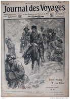 Sven Hedin Au Tibet - Page Original - 1909 - Documents Historiques
