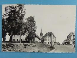 CPSM Thury-Harcourt Hôtel De La Poste Arrivée De La Route De Caen - Thury Harcourt
