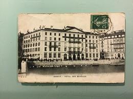 Genève - Hôtel Des Bergues - GE Ginevra