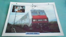 FCARTE DEPHOTO DE TRAIN N° DE CASIER 25PHOTO 250 X 185 - Trains