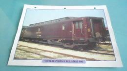 FCARTE DEPHOTO DE TRAIN N° DE CASIER 29PHOTO 250 X 185 - Trains