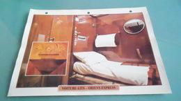 EURCARTE DEPHOTO DE TRAIN N° DE CASIER 32PHOTO 250 X 185 - Trains