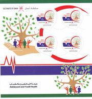 Oman New Issue 2018 Youth Health 1v. SOUVENBIR SHEET MNH  Scarce- SKRILL PAYMENT ONLT - Oman