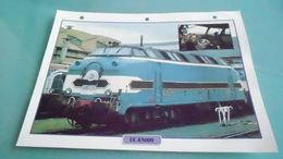 FCARTE DEPHOTO DE TRAIN N° DE CASIER 37PHOTO 250 X 185 - Trains