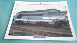 FCARTE DEPHOTO DE TRAIN N° DE CASIER 38PHOTO 250 X 185 - Trains