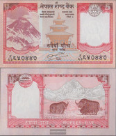 Nepal Pick-number: 60, Signature 19 Uncirculated 2008 5 Rupees - Nepal