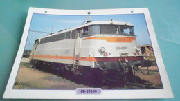 FCARTE DEPHOTO DE TRAIN N° DE CASIER 40PHOTO 250 X 185 - Trains