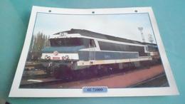 FCARTE DEPHOTO DE TRAIN N° DE CASIER 41PHOTO 250 X 185 - Trains