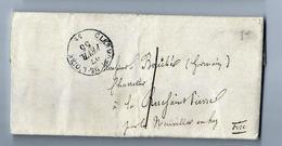 27 Février 1855 - CLERMONT De L' Oise - - Marcophilie (Lettres)
