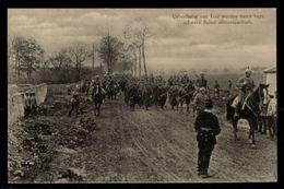 Ueberläuder Von Toul Werden Durch Bayr. Schwere Reiter  Abtransportiert - War 1914-18