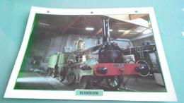 FCARTE DEPHOTO DE TRAIN N° DE CASIER 47PHOTO 250 X 185 - Trains