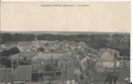 Carte Postale Ancienne De Chateau Porcien ( 08 )vue Générale - Chateau Porcien