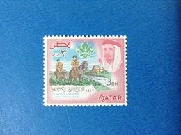 1967 QATAR SCOUT 3 Dh XII WORLD JAMBOREE IDAHO USA FRANCOBOLLO NUOVO STAMP NEW MNH** - Qatar