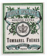 - ALIMENTATION - HUILE D'OLIVE SURFINE EXTRA - TOMBAREL FRÈRES - GRASSE - - Labels