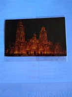 México Cathedral At Night - Mexico