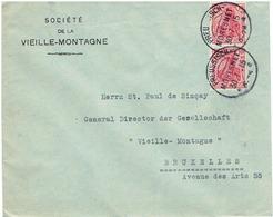 DEUTCHES  REICH LETTRE DE PREUSSISCH  MORESNET 1915 - Germany