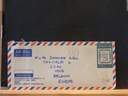 82/115 LETTER  BRUNEI TO  BELG. 1986 - Brunei (1984-...)