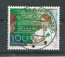 2018 ZNr 1678  OBLITÉRATION PLEINE MARSENS (1902) - Schweiz
