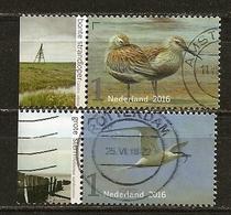 Pays-Bas Netherlands 2016 Oiseaux Birds Obl - Period 2013-... (Willem-Alexander)