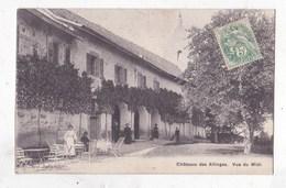 Carte Postale Chateau Des Allinges  Vue Du Midi - Châteaux