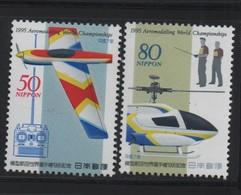 LOT 685 - JAPON N° 2206/2207  ** - HELICOPTERE - AVION - Hélicoptères