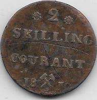 Norvège - 2 Skilling - 1810 - Norvège