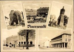 Cp Pasewalk Mecklenburg Vorpommern, Prenzlauer Tor, Kiek In De Mark, Rat Des Kreises, HO Warenhaus - Deutschland