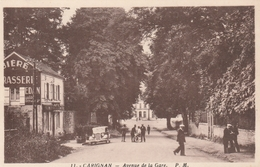 CARIGNAN-Avenue De La Gare. - Francia