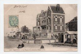 - CPA CAYEUX (80) - La Digue Et Les Dernières Villas 1906 - Editions Lévy 310 - - Cayeux Sur Mer