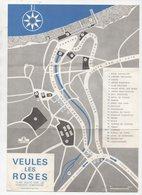 Veules Les Roses (76 Seine Maritime) PLAN Du S.I. (PPP10139) - Tourism Brochures