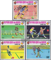 Niger 719-723 (complete Issue) Unmounted Mint / Never Hinged 1980 World Cup, Spain 1 - Niger (1960-...)