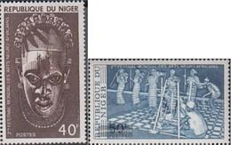 Niger 558-559 (completa Edizione) MNH 1977 Festival - Niger (1960-...)