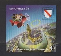 CNEP-1993-N°17** STRASBOURG-EUROPHILEX-MICKEY - CNEP