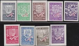 Belgie  .   OBP   .     547A/555A      .   **    .   Postfris ZONDER Plakker   .   /  .      Neuf SANS Charniere - Bélgica