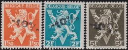 Belgie  .   OBP   .      724  G/H/I        .   **    .  Postfris ZONDER Plakker   .   /  .      Neuf SANS Charniere - Belgique