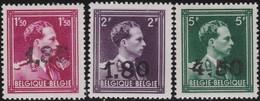 Belgie  .   OBP   .      724 U/V/W        .   **    .   Postfris ZONDER Plakker   .   /  .      Neuf SANS Charniere - Belgique