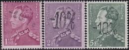 Belgie  .   OBP   .      724  A/C/E        .   **    .   Postfris ZONDER Plakker   .   /  .      Neuf SANS Charniere - Belgique